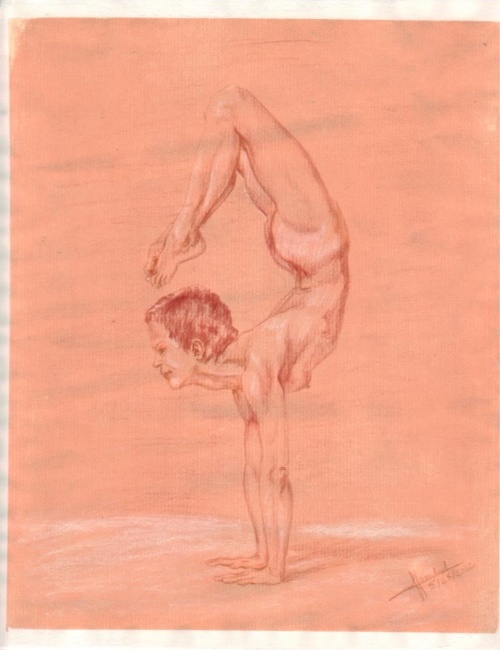 Vrschikasana (Scorpion)
