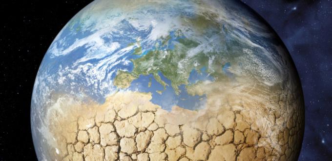 Global warming, earth