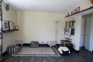 Oriental room setup & guitars