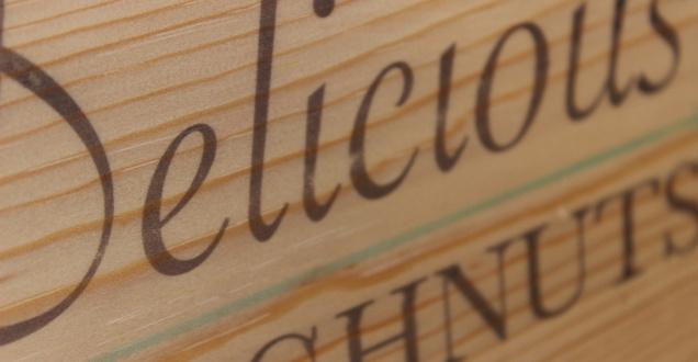 post - print on wood