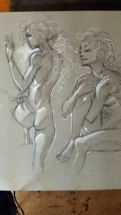 Cartoon Figure Study