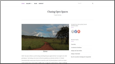 Chasing Open Spaces