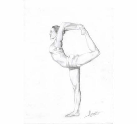 Natarajasana (Dancer)