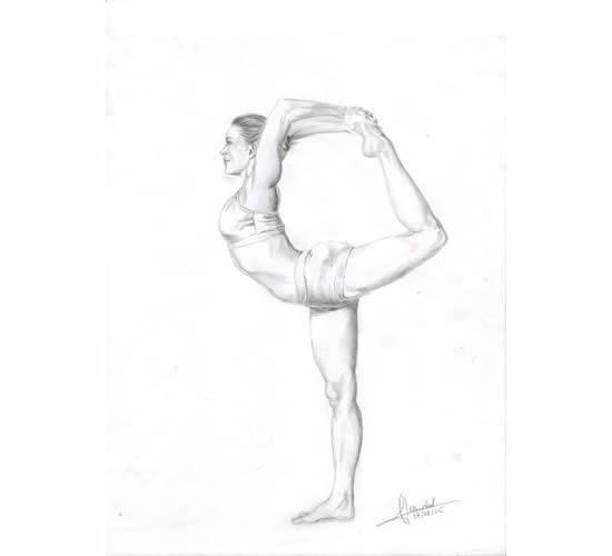 Yoga - Dancer Pose